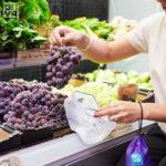 Vivir sin plástico con bolsas reutilizables para frutas y verduras