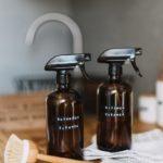 Limpiador de vinagre y agua sin plástico Living